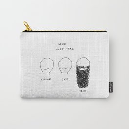 Unqualified Advice 29: Good ideas take... Carry-All Pouch