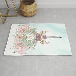 Paris, The City of Love Rug