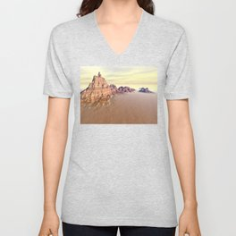 Grand Mountain Range Unisex V-Neck