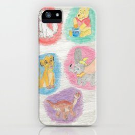 Childhood iPhone Case
