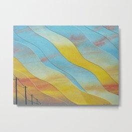 Heatwave Metal Print