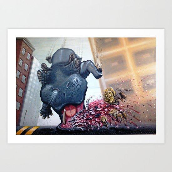 """HIPPOcritical HOPe"" Art Print"