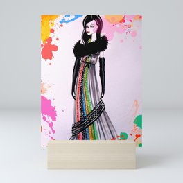 Colour My World Mini Art Print
