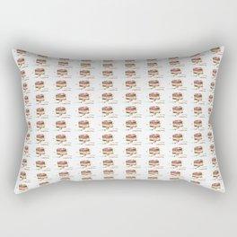 Abstract Frozen Treat Rectangular Pillow