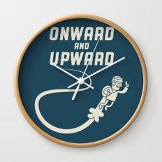 Onwards & Upwards! Wall Clock