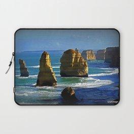 Limestone Rock Stacks - Twelve Apostles Laptop Sleeve