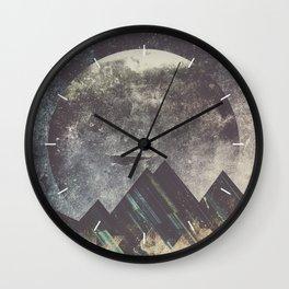 Sweet dreams mountain Wall Clock