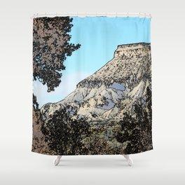 Autumn's Edge Shower Curtain