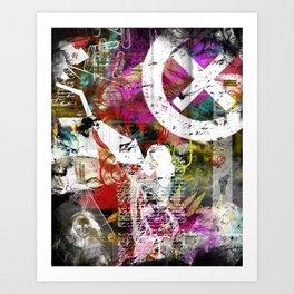 Brushed Art Print