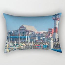 Oceanside Harbor Rectangular Pillow