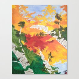 """""""Look Up North"""" - Right Panel Canvas Print"""