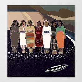 Sky Woman's Brood Canvas Print