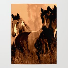 Horse Spirits Poster