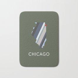 Chicago, Home Sweet Home Bath Mat