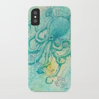 kraken iPhone & iPod Cases featuring Kraken by pakowacz