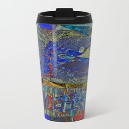 MIDNIGHT IN THE WOODS Travel Mug