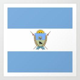 Flag of Pampa Art Print