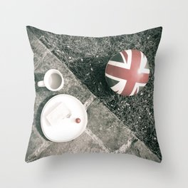 British Sunday | Still Life 88B Throw Pillow