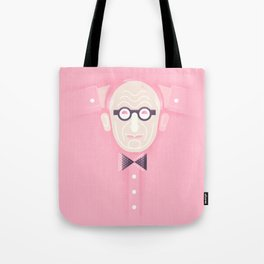 An illustrated celebration of Wally Olins CBE 1930 - 2014 Tote Bag