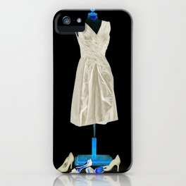 Mannequin with Shoes iPhone Case