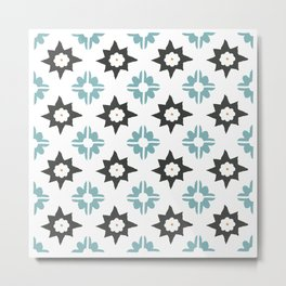 Spanish Tile Metal Print