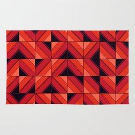 Fake wood pattern Rug