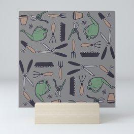 Garden Things - Colour Mini Art Print