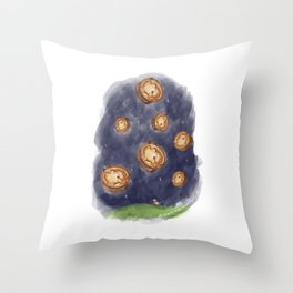 The Night It Rained Scotch Pies! Throw Pillow