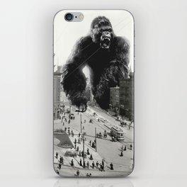 King Kong in Detroit 1907 iPhone Skin