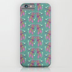 pattern with dragonflies 4 Slim Case iPhone 6s