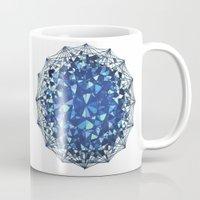 snowflake Mugs featuring Snowflake by LDBEAN