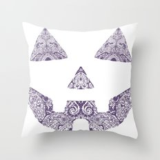 Pumpkin Artwork Throw Pillow