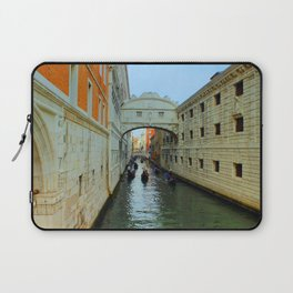 Bridge of Sighs, Venice, Italy,  in the late afternoon sun. Laptop Sleeve