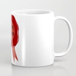 Wax Stamp Quality Assured Coffee Mug