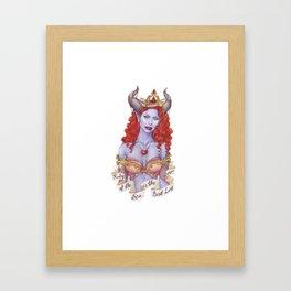 Ruby of the Sea Framed Art Print