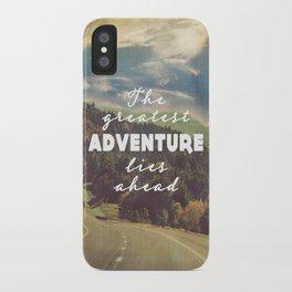 The Greatest Adventure iPhone Case