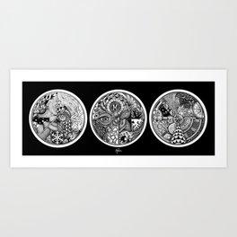 Circle Series Art Print