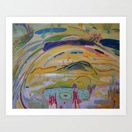 Tomorrow Avalon Art Print