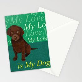 IT'S MY LITTLE DOG Stationery Cards