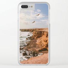 Chilean Coast Clear iPhone Case