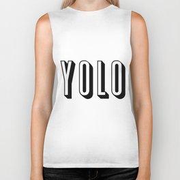 Yolo Biker Tank