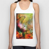 chinese Tank Tops featuring Chinese landscape by Ganech joe