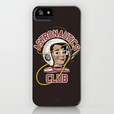 Astro Club (brown) iPhone (5, 5s) Slim Case
