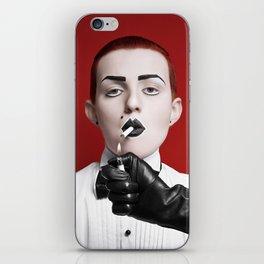gentlewoman (for a gentleman?) iPhone Skin