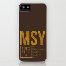 MSY iPhone Case