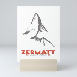 Zermatt, Valais, Switzerland  Mini Art Print