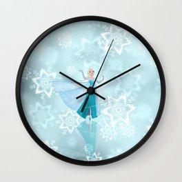 Frozen Elsa Wall Clock