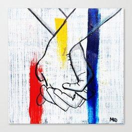 Primary Love Canvas Print