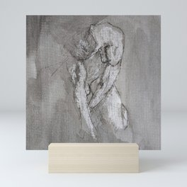 Study in Grey 1 Mini Art Print