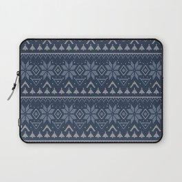 scandinavian knitting ornament 3 Laptop Sleeve